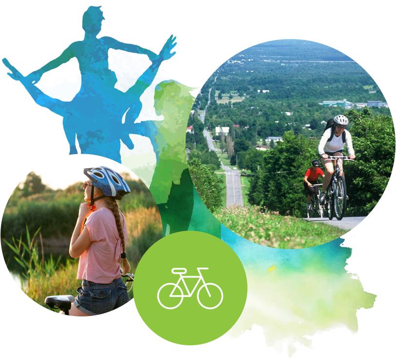Des destinations de vélo aux paysages époustouflants